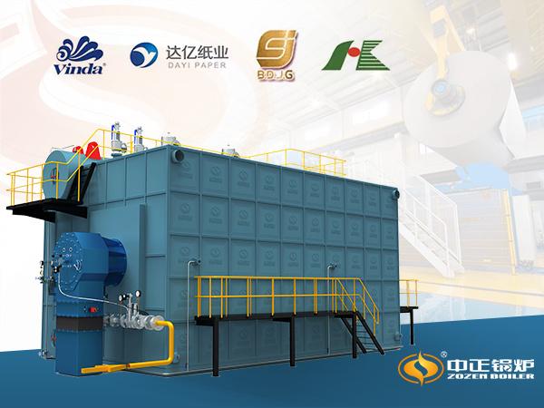 节能燃气锅炉成为河北保定七成生活用纸生产企业的标配