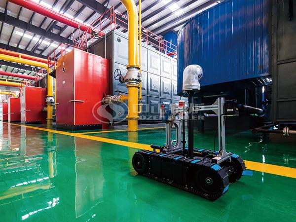 中正燃气热水锅炉安全可靠 实现自动化运行