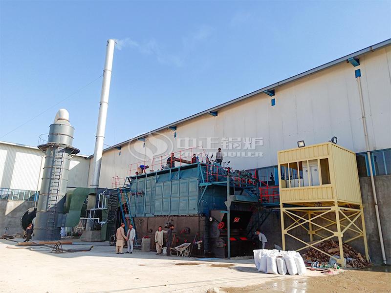造纸厂15吨SZL系列燃