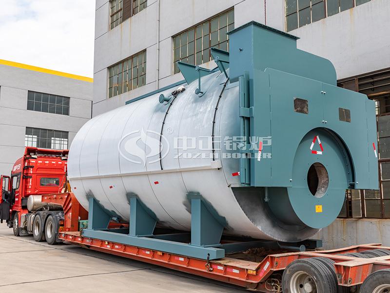 有色金属20吨WNS系列环保二回程燃气蒸汽锅