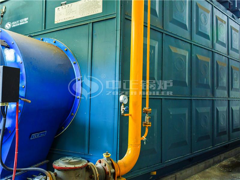 印染行业35吨SZS系列燃气蒸汽锅炉项目