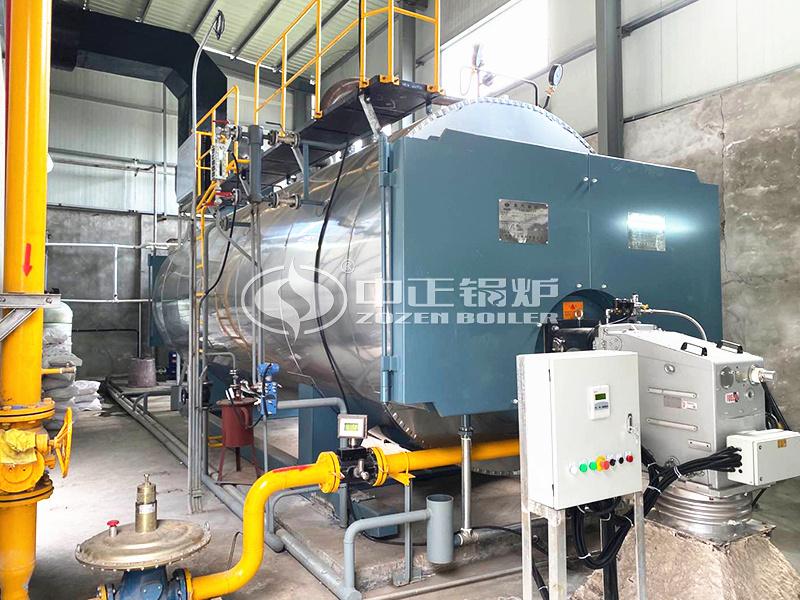 医院供暖用1400kw燃气热水锅炉
