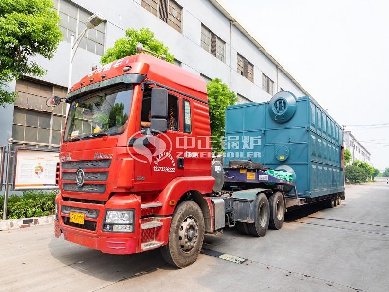 濮阳化工厂20吨SZS系列燃气蒸汽锅炉项目